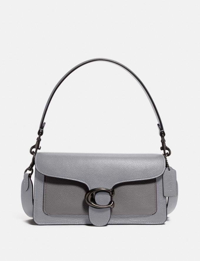 Coach Tabby Shoulder Bag 26 in Colorblock Pewter/Granite Multi New Women's New Arrivals Bags