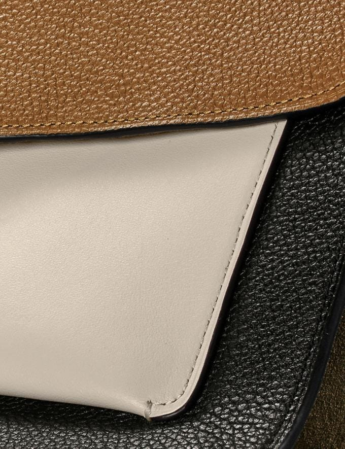 Coach Tabby Shoulder Bag in Colorblock Straw Multi/Brass Women Handbags Shoulder Bags & Hobos Alternate View 5