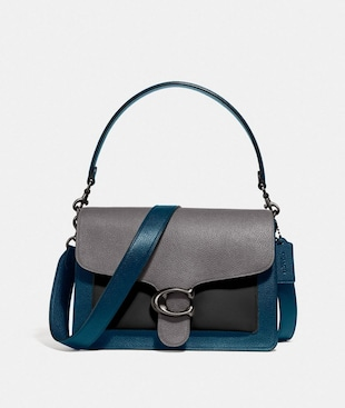 TABBY SHOULDER BAG IN COLORBLOCK