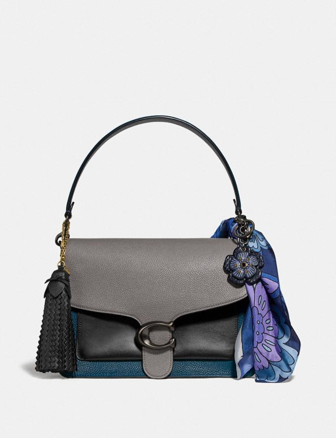 Coach Tabby Shoulder Bag in Colorblock Heather Grey Multi/Pewter Women Bags Crossbody Bags Alternate View 3