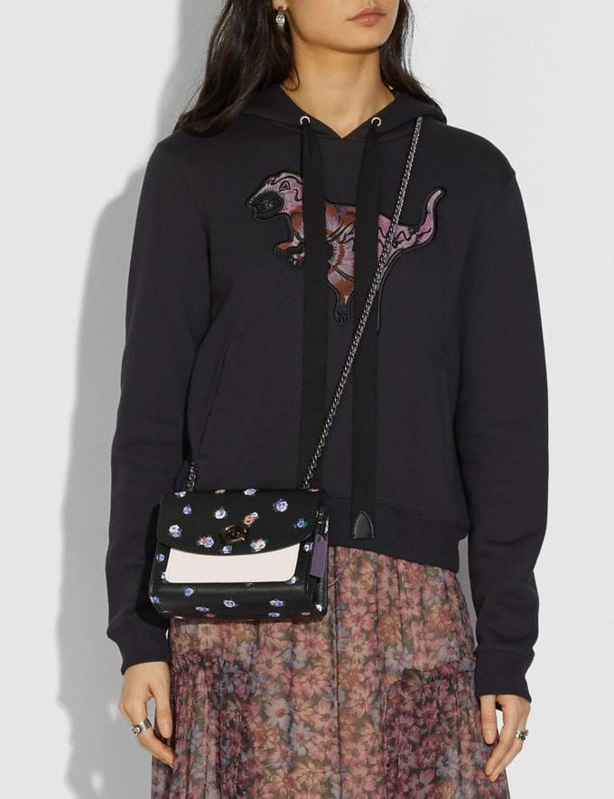 Coach Parker 18 With Vintage Rosebud Print Black Multi/Pewter SALE 30% off Select Styles 30% off Alternate View 4