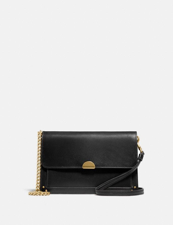 Coach Dreamer Convertible Crossbody Black/Brass Women Collection Dreamer