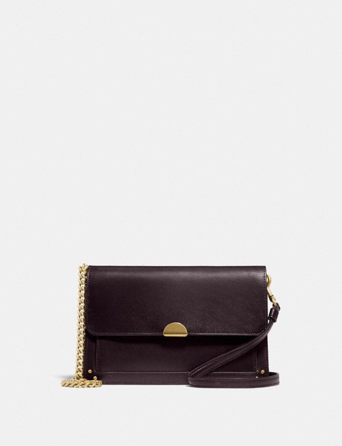 Coach Dreamer Convertible Crossbody Oxblood/Brass New Featured 30% off (and more)