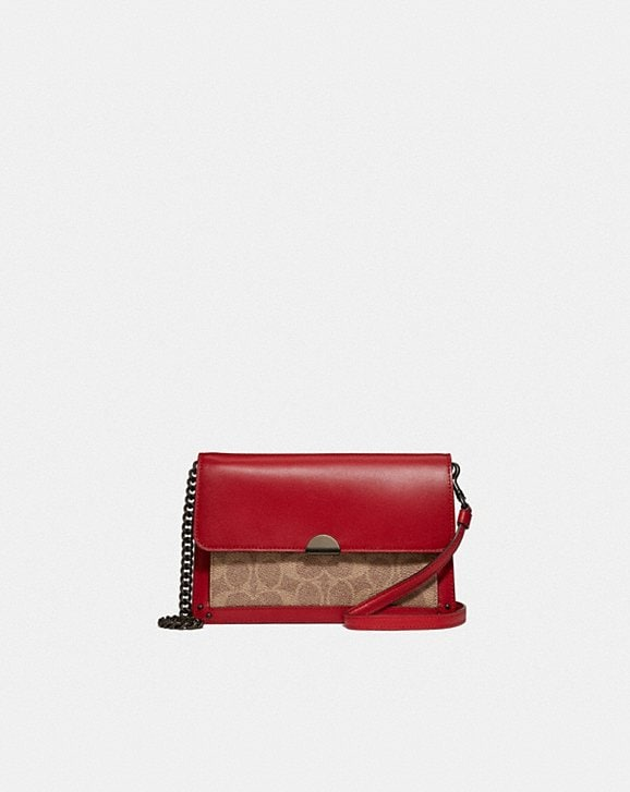 Coach DREAMER CONVERTIBLE CROSSBODY IN COLORBLOCK SIGNATURE CANVAS