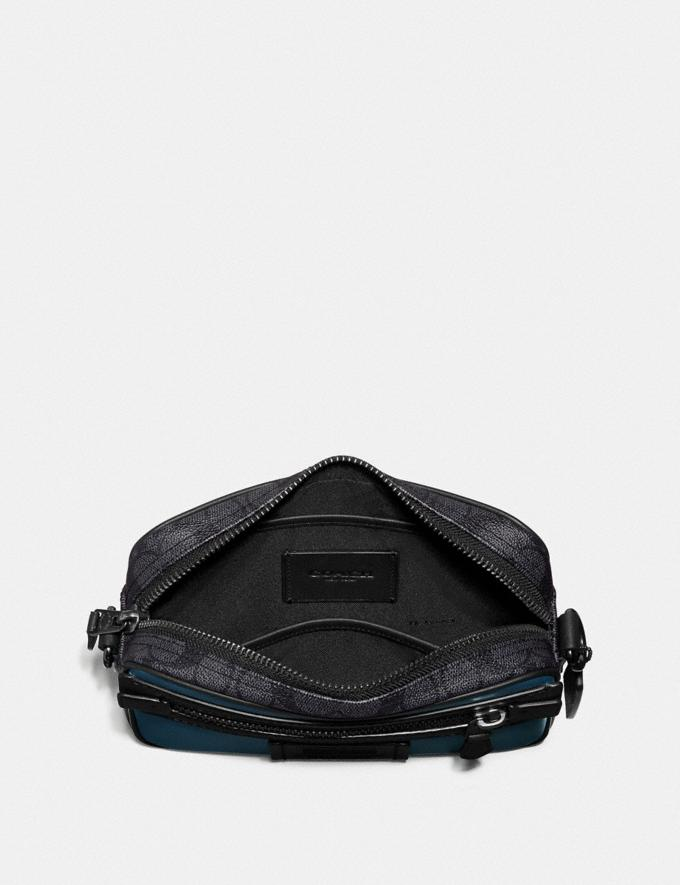Coach Academy UmhÄNgetasche Aus Charakteristischem Colourblock-Canvas Multi Cyber Monday Für Ihn Cyber Monday Sale Alternative Ansicht 2