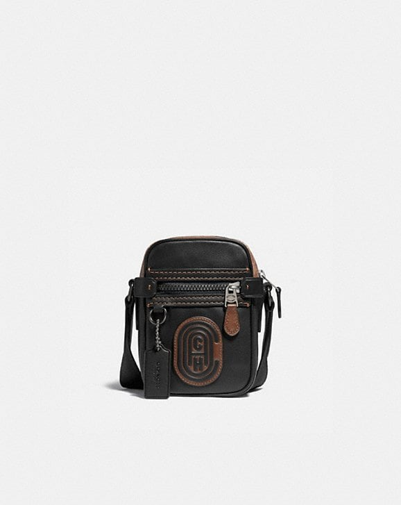 Coach DYLAN 10 WITH SIGNATURE CANVAS BLOCKING AND COACH PATCH