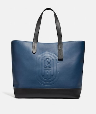 ACADEMY TOTE WITH COACH PATCH