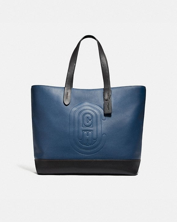 Coach ACADEMY TOTE WITH COACH PATCH