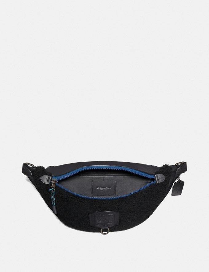 Coach Sac Ceinture Rivington Noir/Finition Cuivre Noir Homme Sacs Sacs ceinture Autres affichages 2