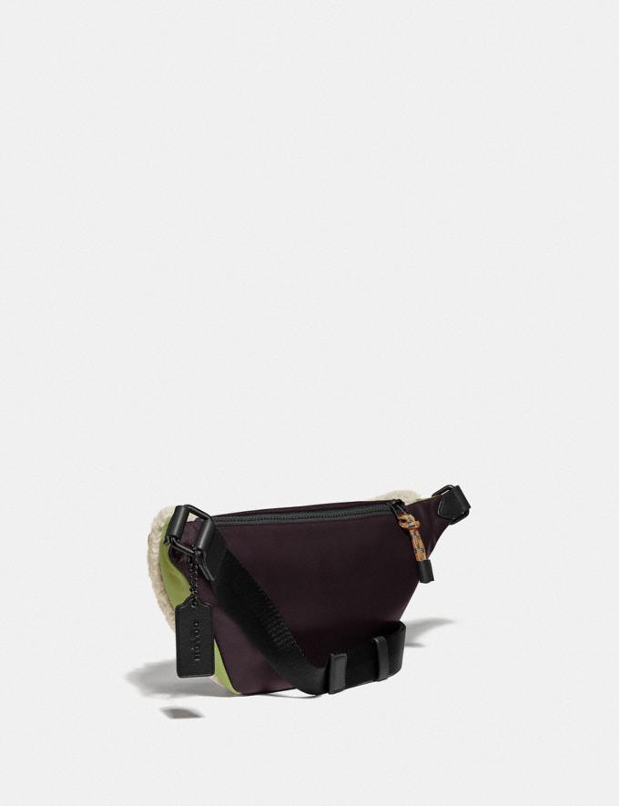 Coach Rivington Belt Bag Black Copper/Natural New Men's New Arrivals Collection Alternate View 1
