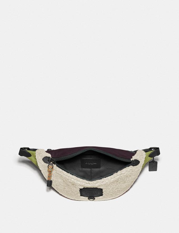 Coach Rivington Belt Bag Black Copper/Natural New Men's New Arrivals Collection Alternate View 2