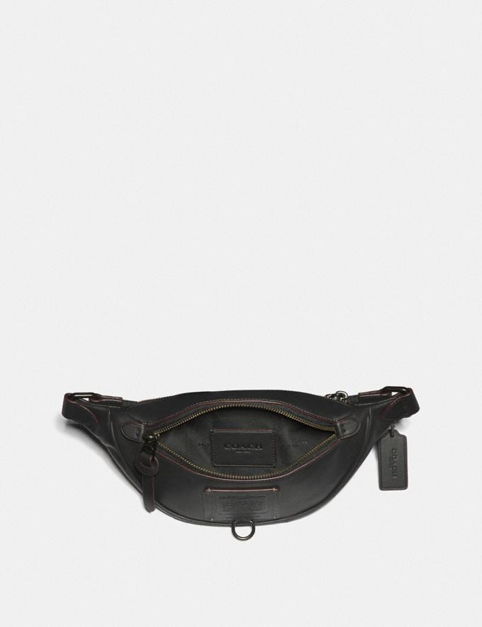 Coach Rivington Belt Bag 7 Black/Black Copper Gifts For Him Under $300 Alternate View 2