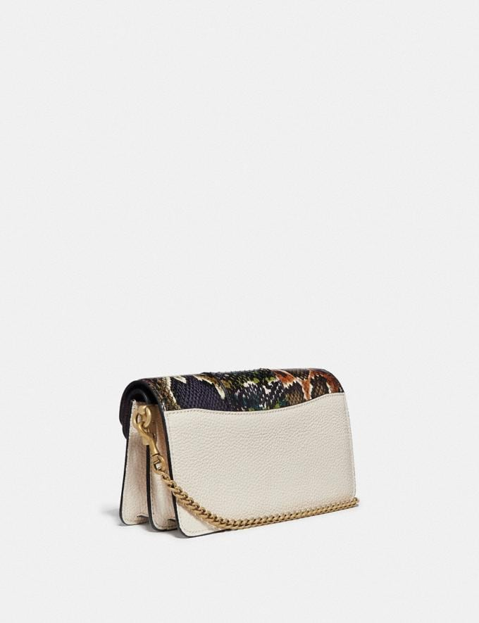 Coach Tabby Crossbody With Snakeskin Detail Chalk Multi/Brass Women Bags View All Alternate View 1