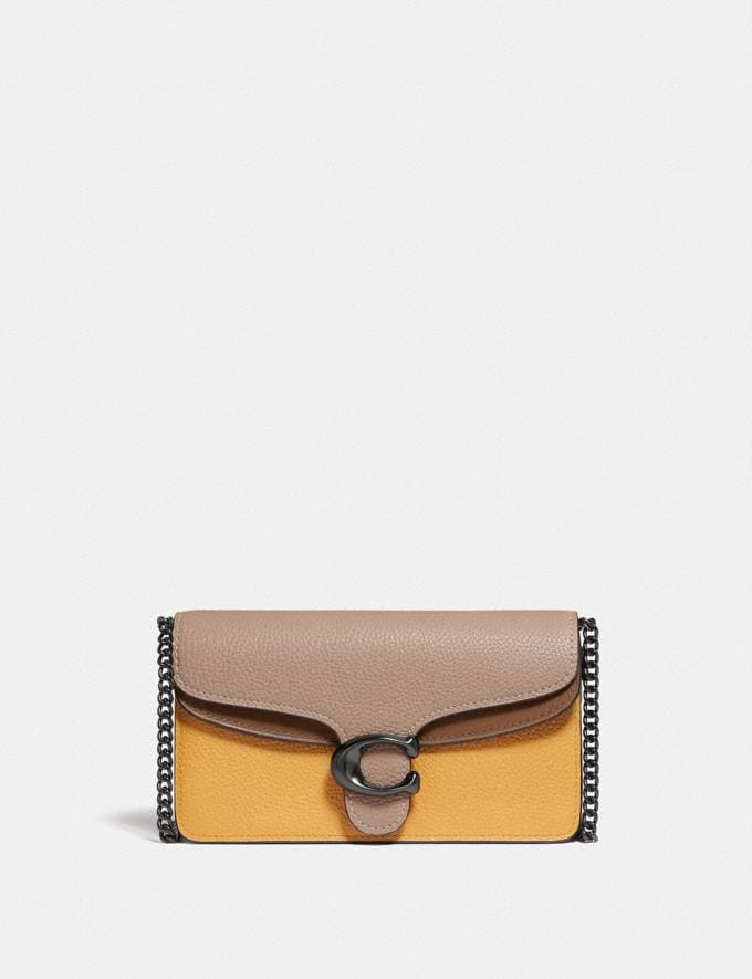 Coach Tabby Crossbody in Colorblock V5/Honeycomb Multi Women Small Leather Goods Wristlets