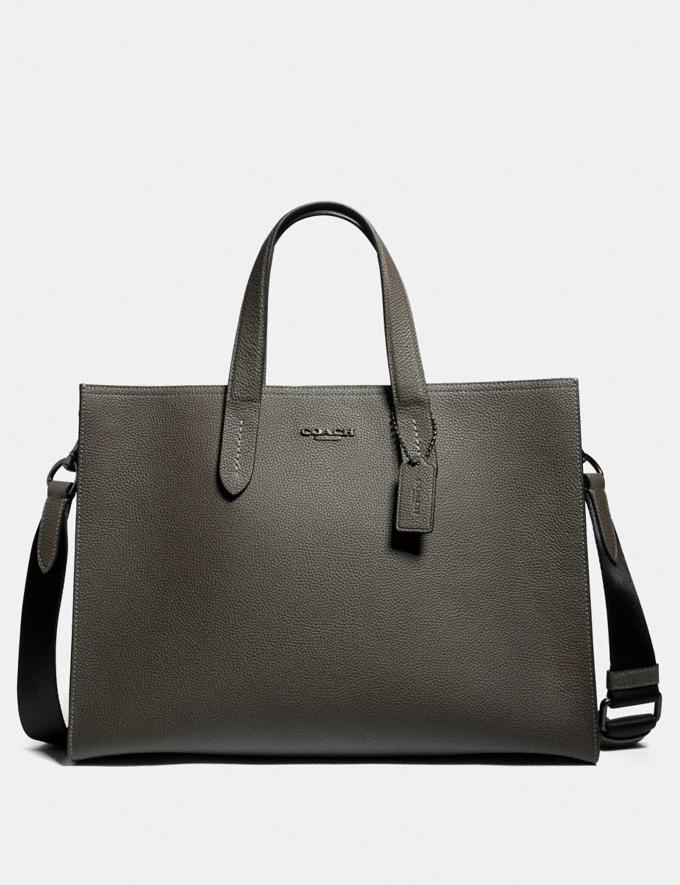 Coach Charlie Brief Moss/Black Copper SALE Men's Sale