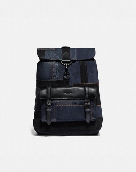 Coach BLEECKER BACKPACK WITH PATCHWORK