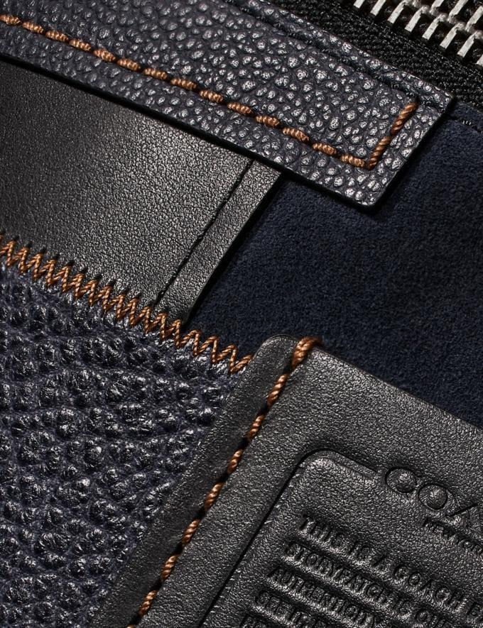 Coach Rivington Belt Bag With Patchwork Black/Black Copper New Men's New Arrivals Bags Alternate View 4