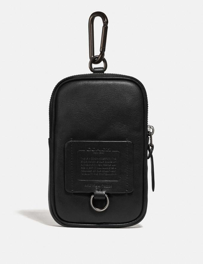Coach Hybrid Pouch 10 Black Cyber Monday