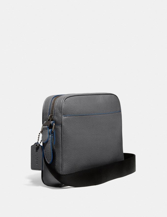 Coach Metropolitan Soft Camera Bag Grey/Black Antique Nickel New Men's New Arrivals View All Alternate View 1