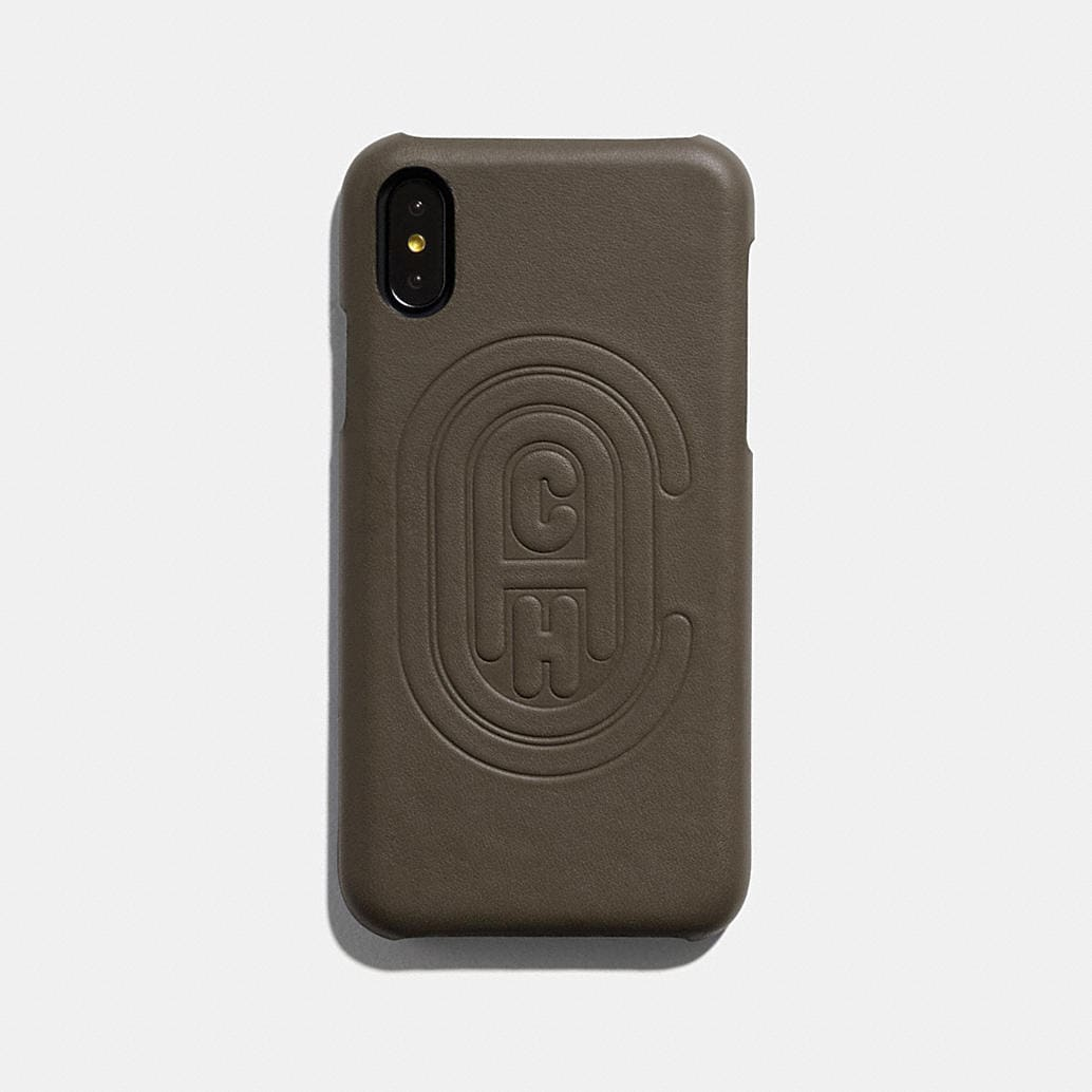 Iphone X/Xs Case With Coach Patch by Coach