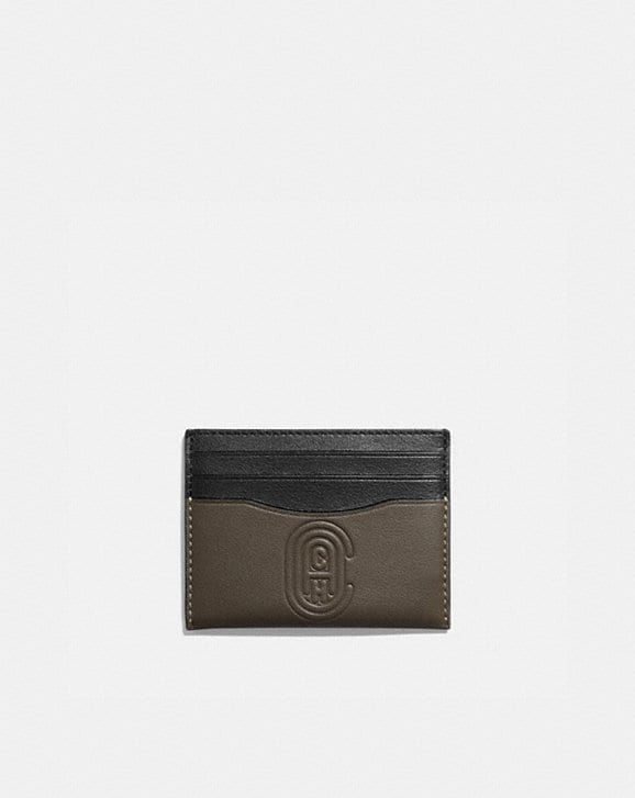 Coach CARD CASE WITH COACH PATCH