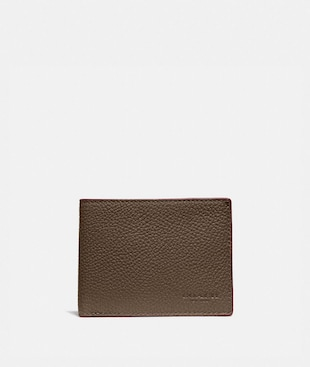 SLIM BILLFOLD WALLET IN COLORBLOCK