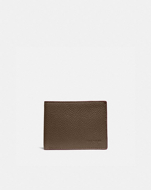 Coach SLIM BILLFOLD WALLET IN COLORBLOCK
