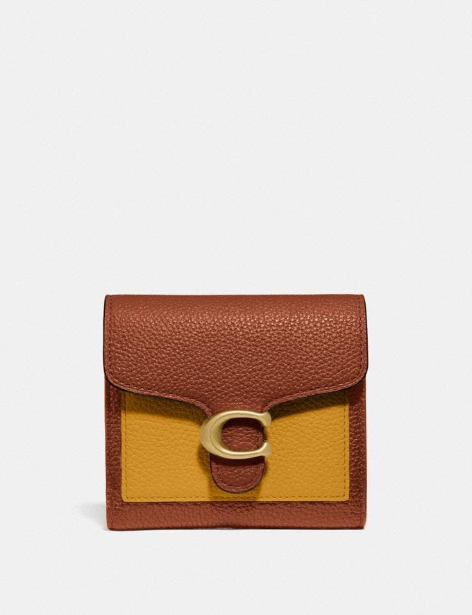 Coach Tabby Small Wallet in Colorblock B4/Buttercup Multi DEFAULT_CATEGORY