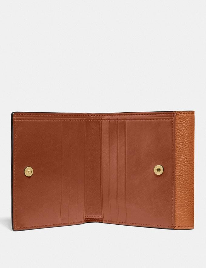 Coach Tabby Small Wallet in Colorblock B4/Buttercup Multi DEFAULT_CATEGORY Alternate View 1
