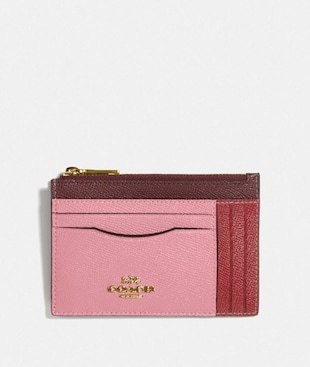 LARGE CARD CASE IN COLORBLOCK