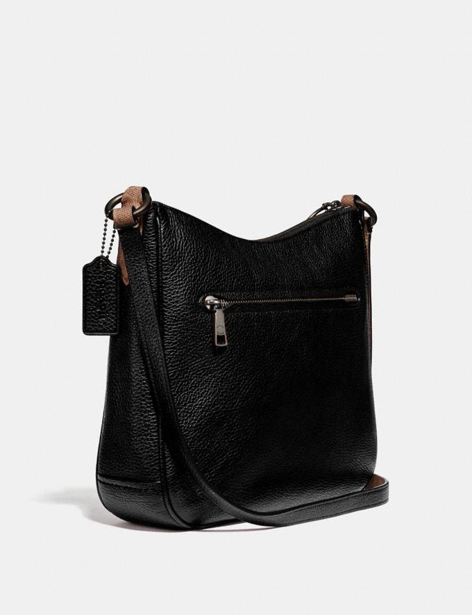 Coach Chaise Crossbody With Signature Canvas Blocking Black Women Edits Signature Styles Alternate View 1
