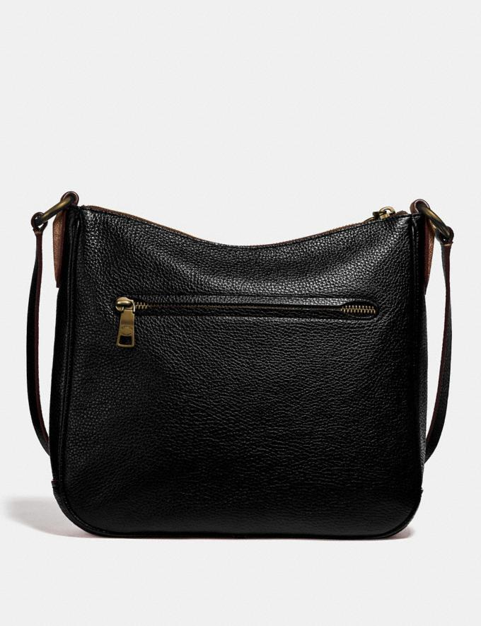 Coach Chaise Crossbody With Signature Canvas Blocking Black Women Edits Signature Styles Alternate View 2