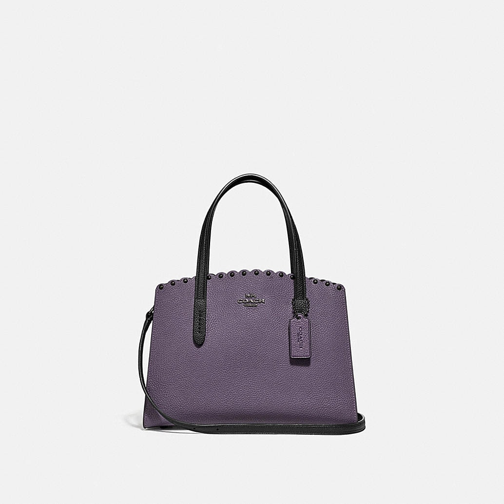 Charlie Carryall 28 With Scallop Rivets by Coach