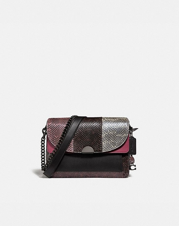 Coach DREAMER SHOULDER BAG IN SNAKESKIN