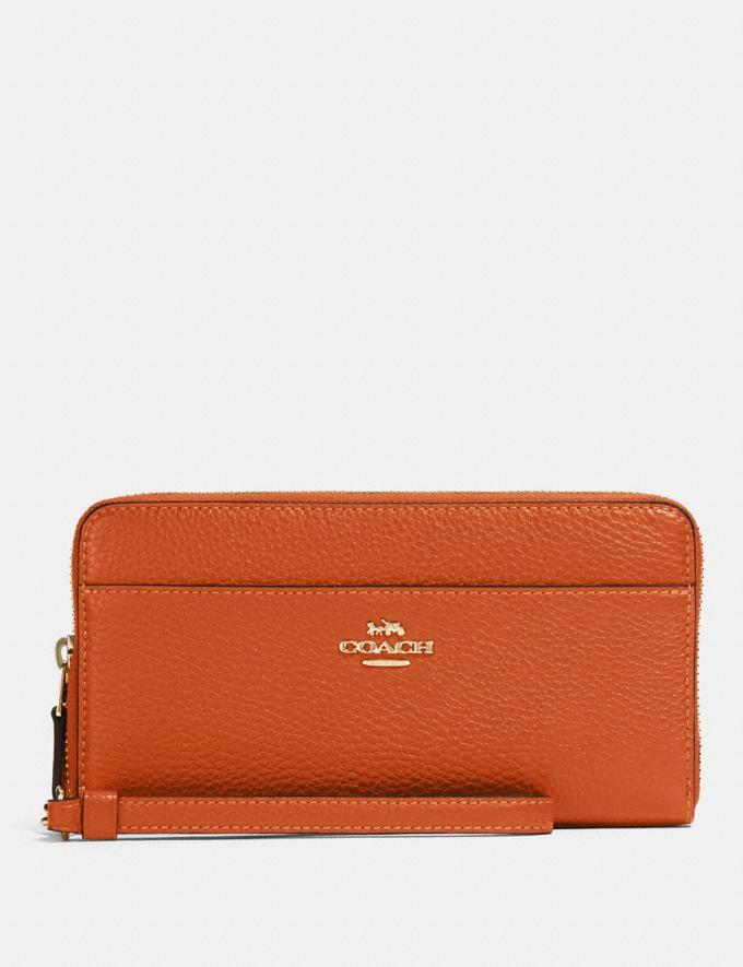 Coach Accordion Zip Wallet Im/Sedona Accessories Wallets