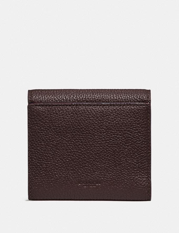 Coach Tabby Small Wallet Oxblood/Brass New Women's New Arrivals Wallets & Wristlets Alternate View 1