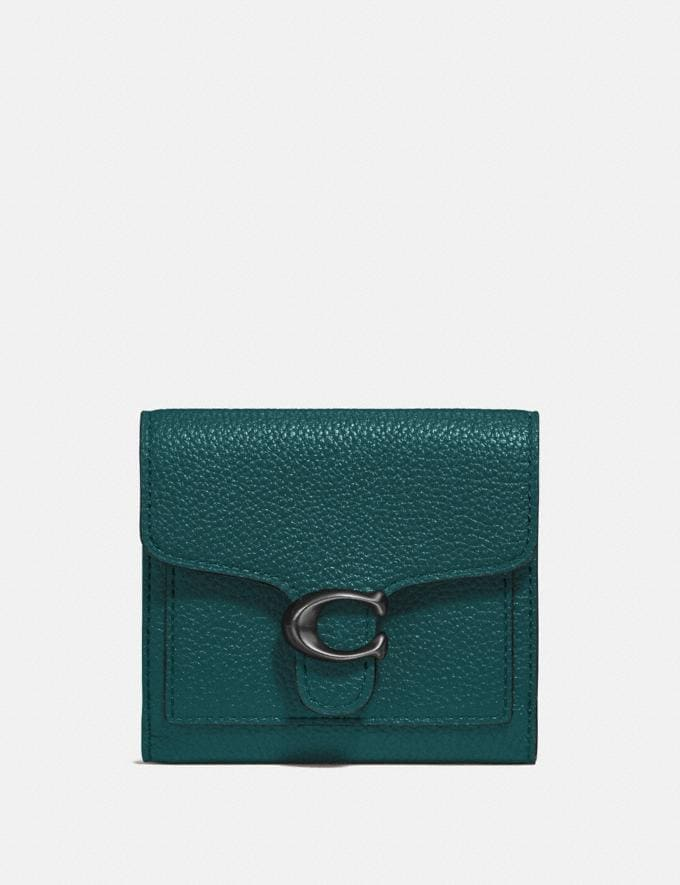 Coach Tabby Small Wallet Pewter/Forest Gift For Her Under €250