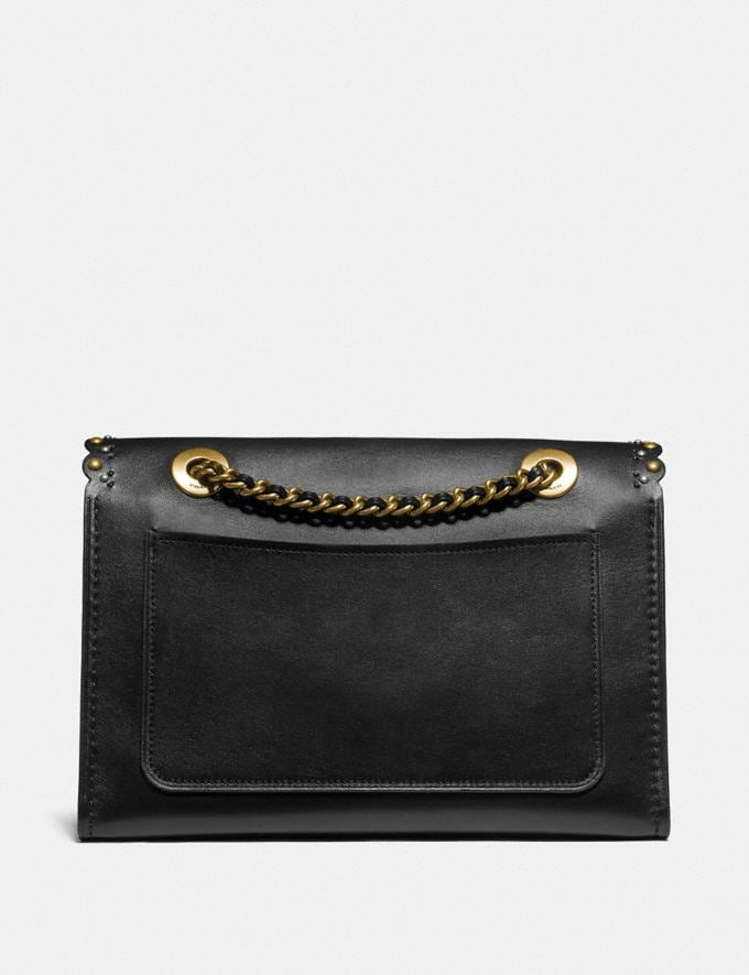 Coach Parker With Edge Scallop Rivets Black Multi/Brass Gifts For Her Under £500 Alternate View 2