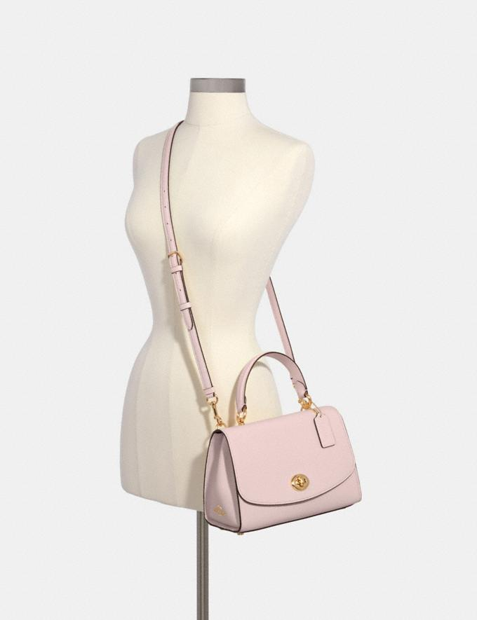 Coach Tilly Top Handle Satchel Im/Blossom What's New Alternate View 2