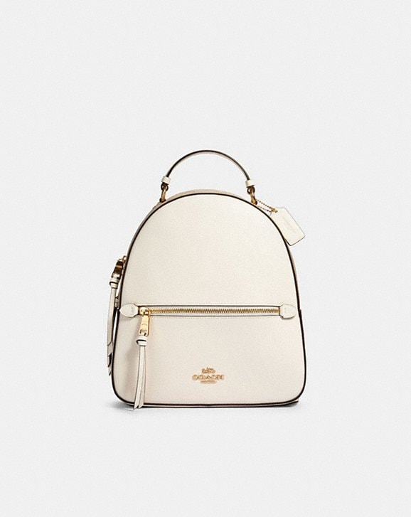 Coach JORDYN BACKPACK WITH SIGNATURE CANVAS DETAIL