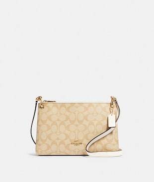 MIA CROSSBODY IN SIGNATURE CANVAS