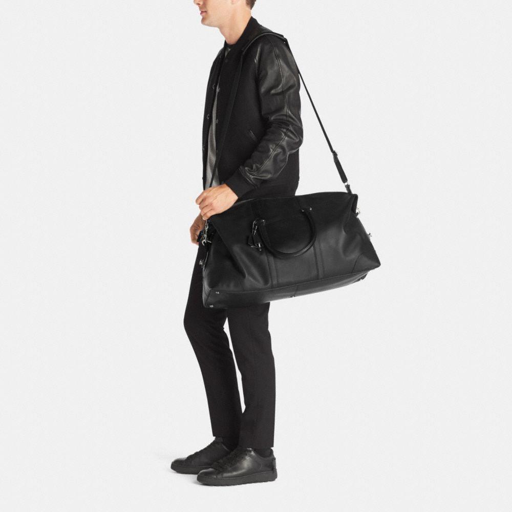 Transatlantic Travel Carryon in Leather - Alternate View M