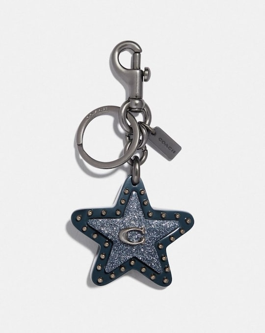STUDDED STAR BAG CHARM