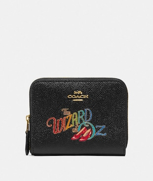 WIZARD OF OZ BOXED SMALL ZIP AROUND WALLET WITH MOTIF