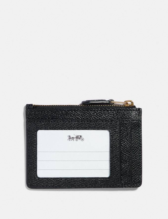 Coach Wizard of Oz Boxed Mini Skinny Id Case With Motif Gold/Black New Featured Coach X The Wizard of Oz Alternate View 1