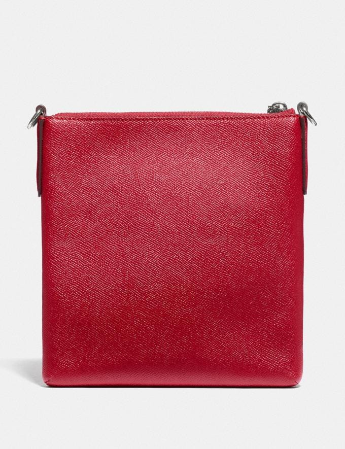Coach Wizard of Oz Kitt Messenger Crossbody With Motif Silver/Red Apple New Featured Coach X The Wizard of Oz Alternate View 1