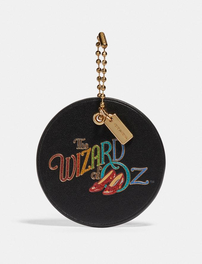 Coach Wizard of Oz Boxed Hangtag Gold/Black New Featured Coach X The Wizard of Oz