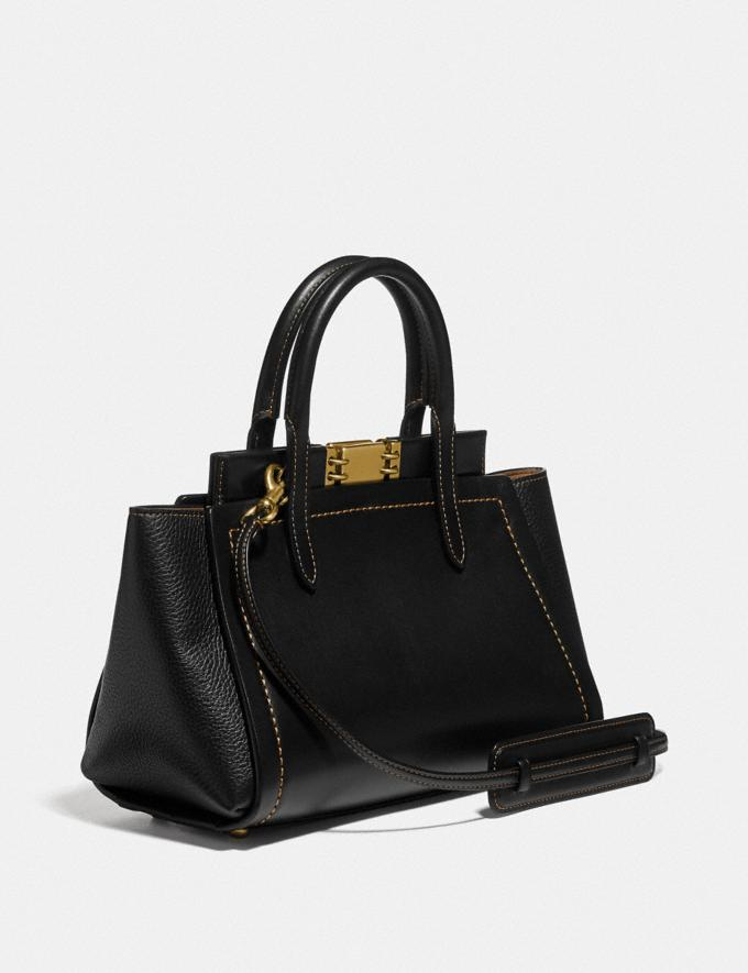 Coach Troupe Carryall Black/Brass  Alternate View 1