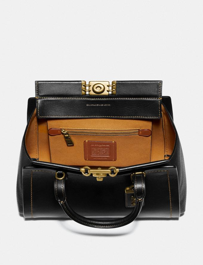 Coach Troupe Carryall Black/Brass  Alternate View 2