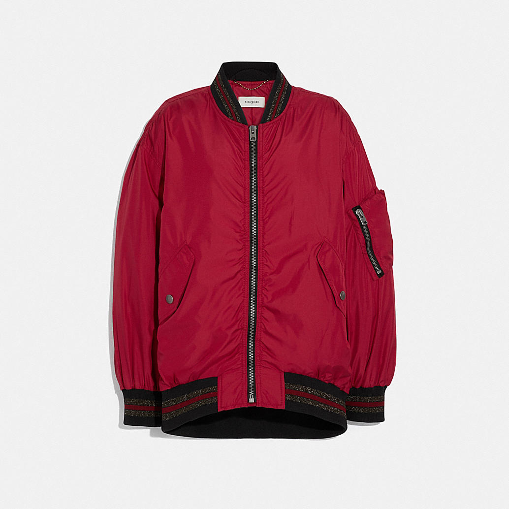 Nylon Ma 1 Jacket by Coach